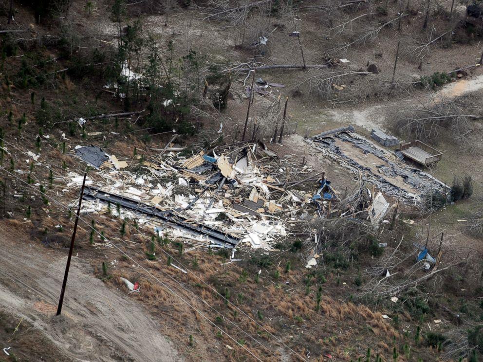 10 reported tornadoes hit Arkansas, Louisiana as severe