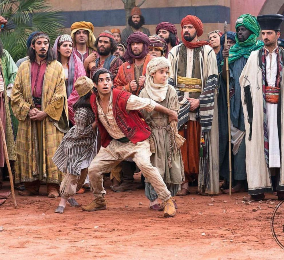 PHOTO: Mena Massoud in a scene from Aladdin.