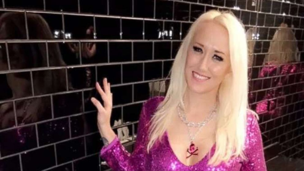 Alana Evans is pictured in an undated handout photo.