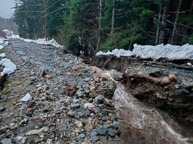 6 people missing after Alaska landslides, at least 4 homes destroyed