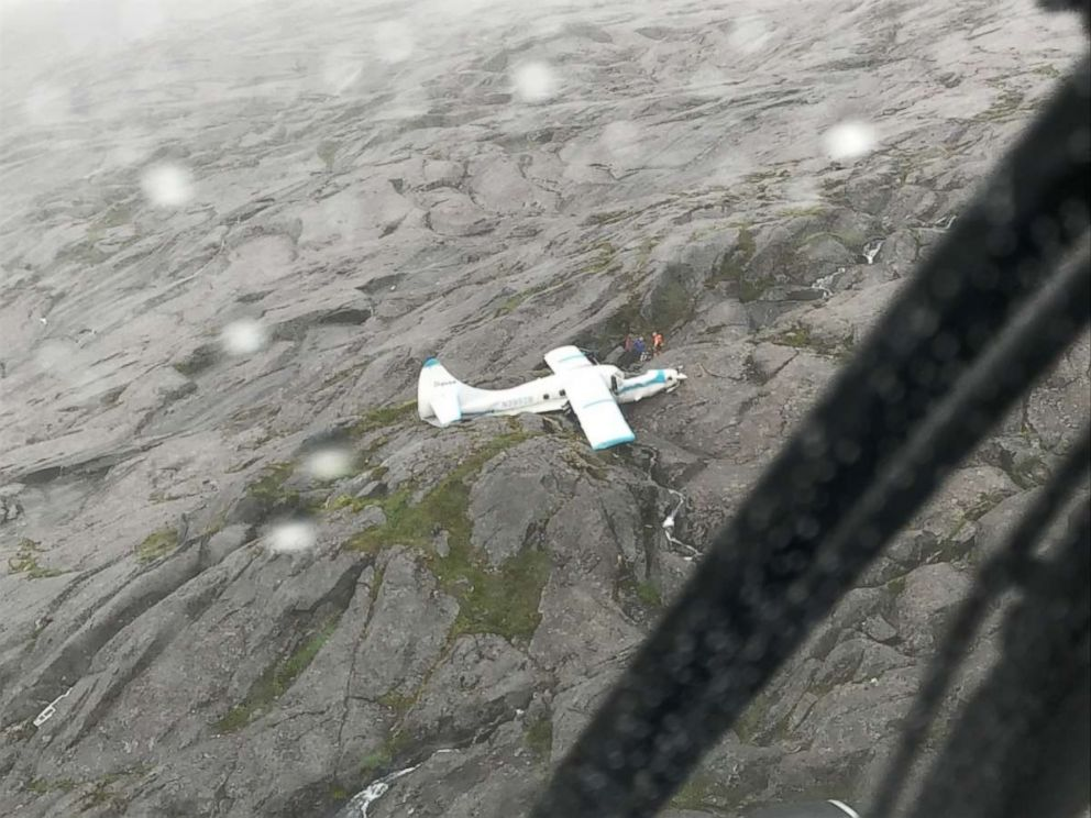 All 11 people on board a plane survived a crash in Ketchikan, Alaska, on Tuesday, July 10, 2018.