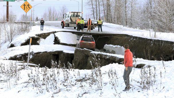 Live Updates: Large earthquake rocks Anchorage, Alaska, causing 'major infrastructure damage'