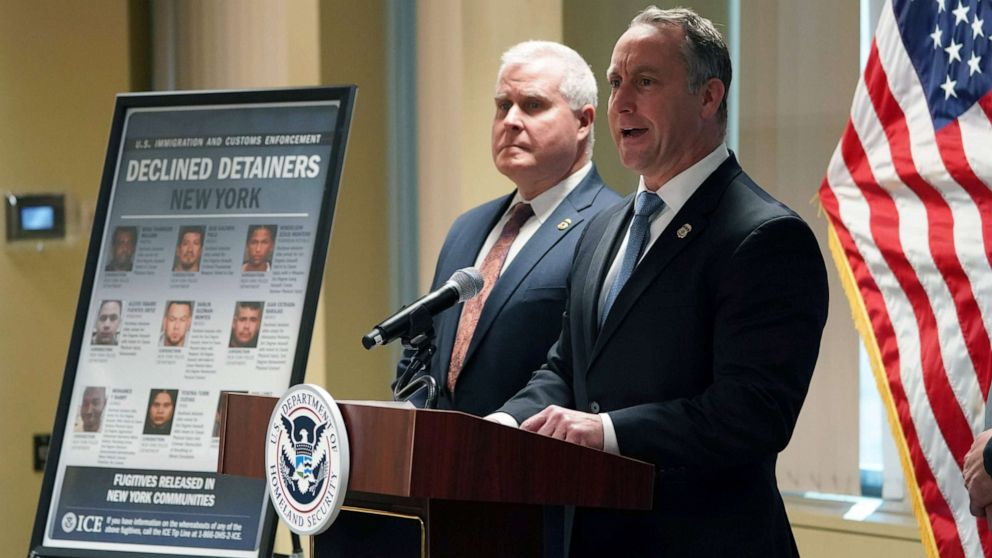 Acting ICE director slams New York City's sanctuary city policy following murder of 92-year-old woman