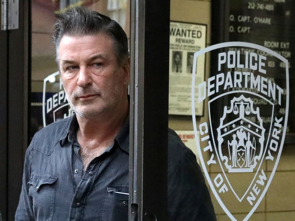PHOTO: Actor Alec Baldwin exits the 6th precinct of the New York Police Department in Manhattan, New York, Nov. 2, 2018.