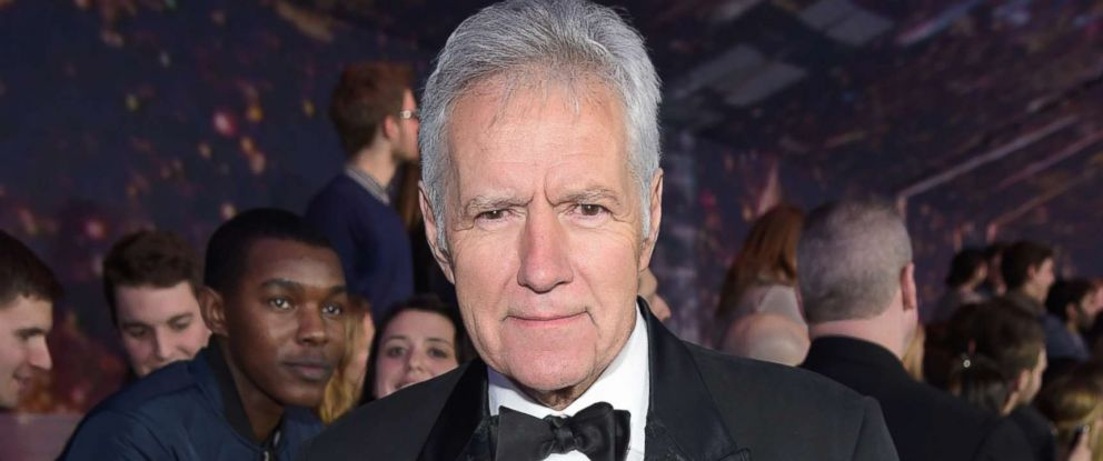 PHOTO: Alex Trebek walks the red carpet at the SNL 40th Anniversary Special at 30 Rockefeller Plaza in New York, NY on Feb.15, 2015.