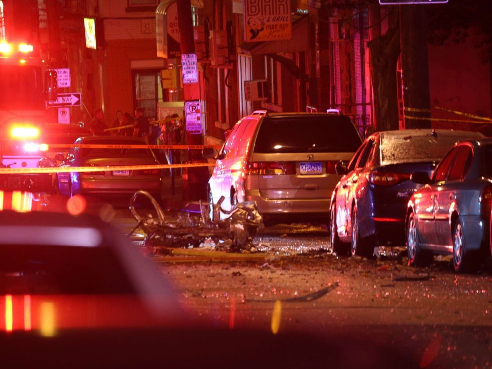 27d10a57ef8 PHOTO: A deadly car explosion rattled a neighborhood in Allentown, Pa., on