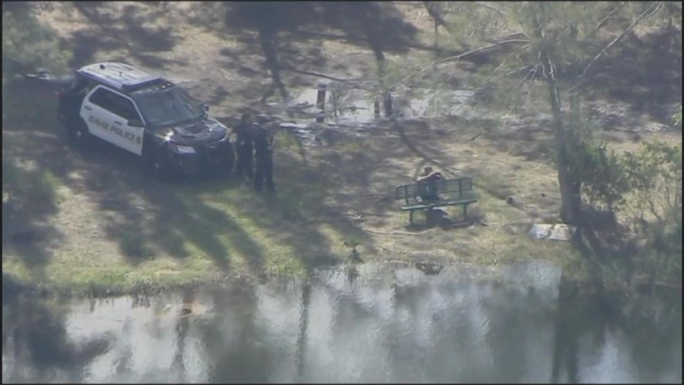PHOTO: A missing woman is believed to have been killed after she was bitten by an alligator while walking two dogs at the Silver Lakes Rotary Nature Park in Davie, Florida.   Missing woman in Florida believed to be dead after she was bitten by an alligator, officials say alligator 04 as ht 180608 hpEmbed 16x9 992