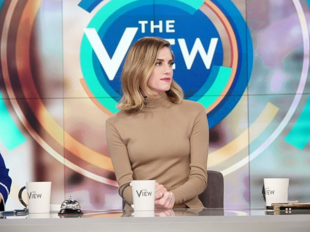 PHOTO: Allison Williams spoke with The View about her new role in the Netflix thriller The Perfection.