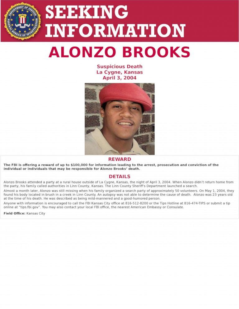Death of Alonzo Brooks