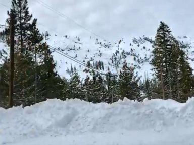 1 dead in avalanche at ski resort