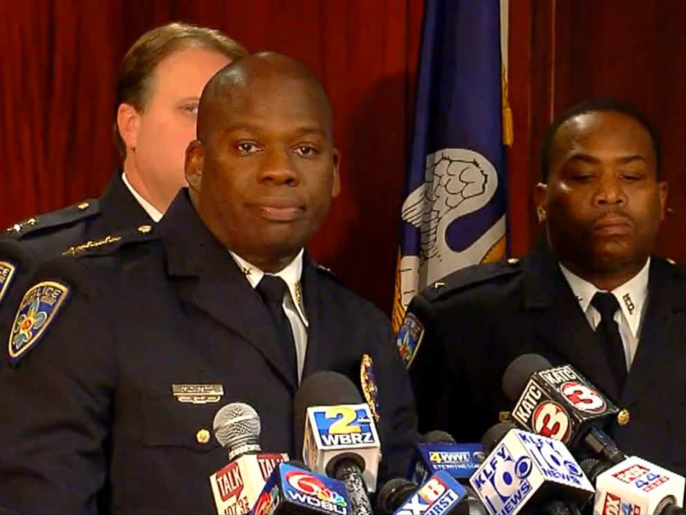 PHOTO: Baton Rouge Police Chief Murphy Paul addresses the recent release of footage in the 2016 shooting death of Alton Sterling, March 30, 2018, in Baton Rouge, Louisiana.