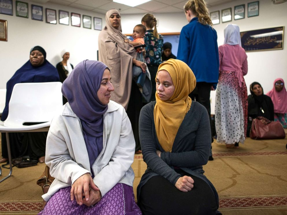 PHOTO: Amaiya attends Friday prayers at a mosque in Minneapolis.