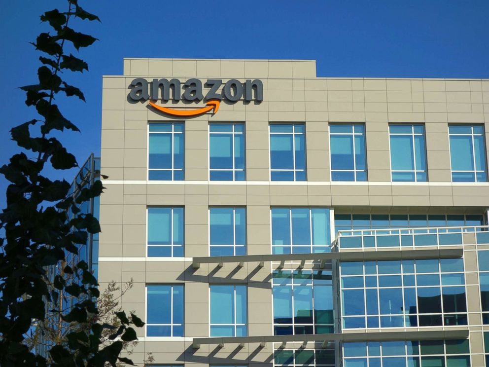 PHOTO: Amazon corporate office building is seen in Sunnyvale, California.