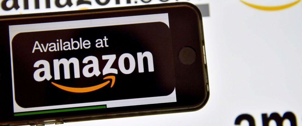 PHOTO: The Amazon logo is pictured in this file photo, Dec. 28, 2016.