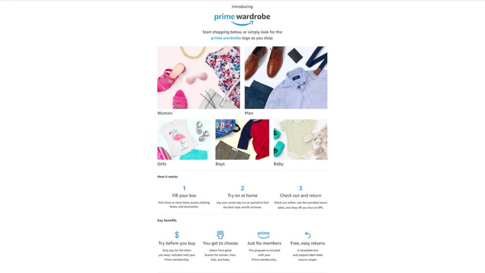 d27791cf8496 Exclusive 1st look at Amazon s new Prime Wardrobe service that lets ...
