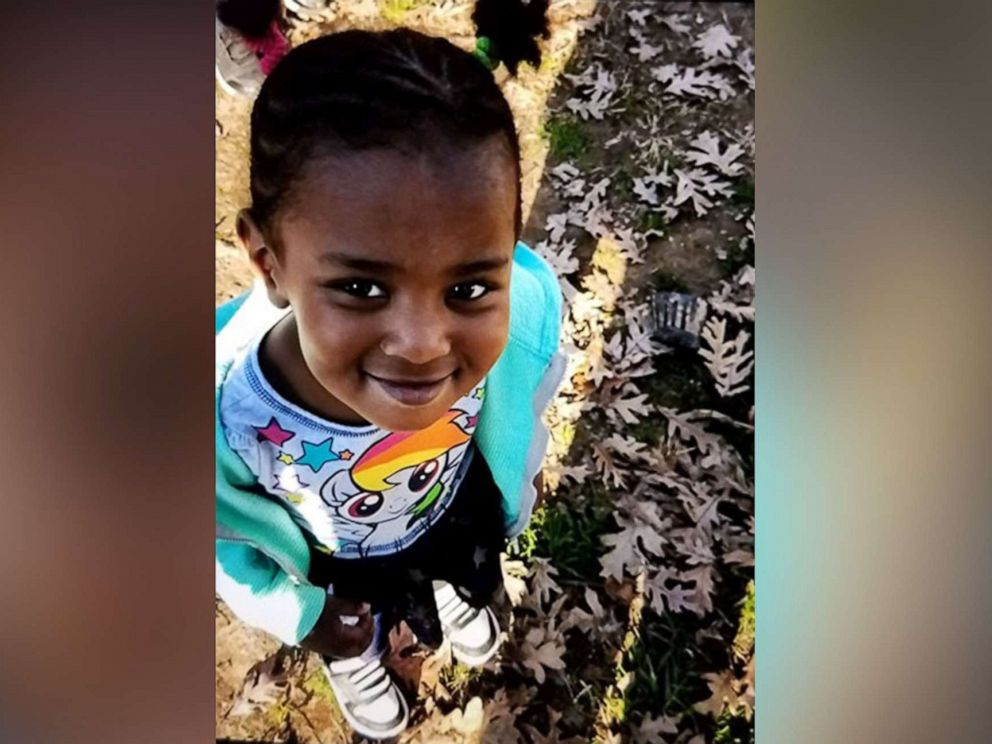 PHOTO: Police in Greensboro, N.C., have issued an amber alert for Ahlora Lindiment, last seen wearing a short sleeve pink t-shirt, black jeans and possibly white sandals on Oct. 9, 2019.