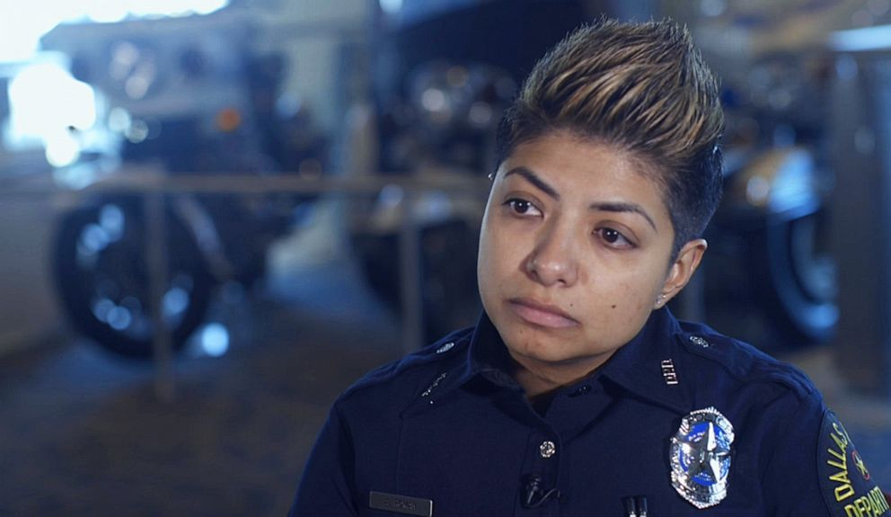 PHOTO: LGBTQ Liason Officer for Dallas Police Amber Roman is working to earn the trust of the trans community, starting by working to stop misgendering.