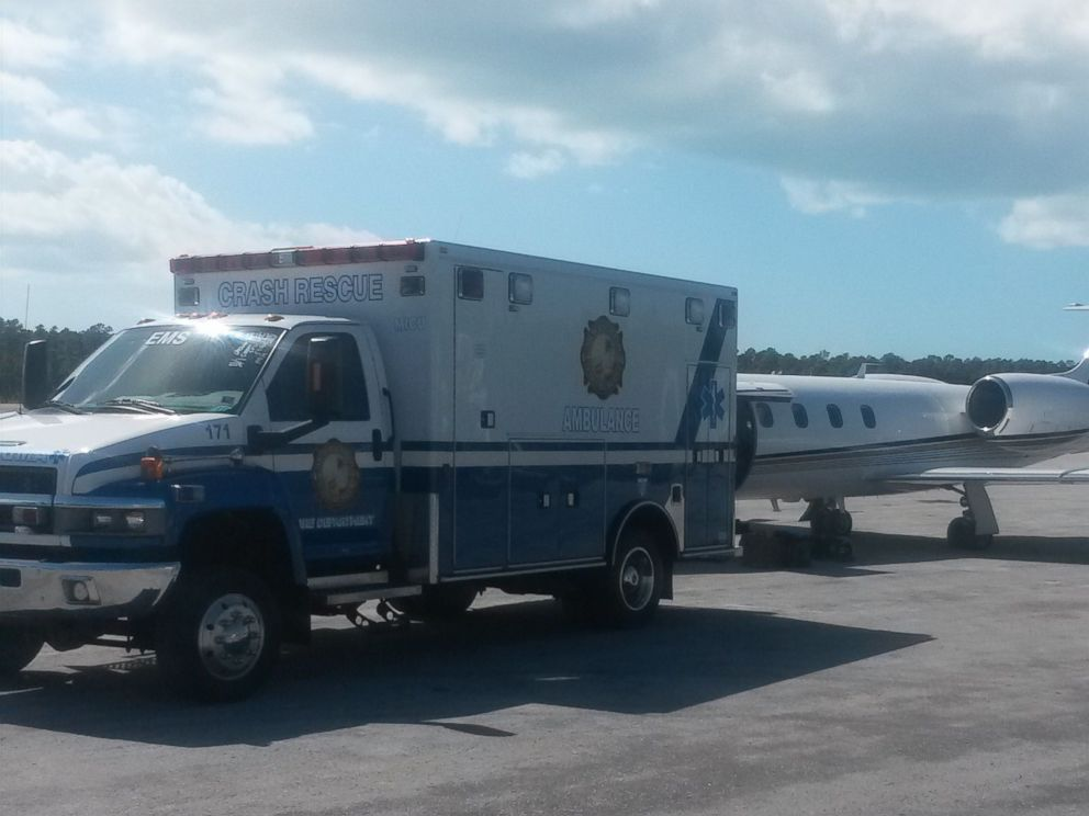 PHOTO: The 32-year-old woman from Massachusetts was transported to Fort Lauderdale, Fla., after being attacked by a shark on Sunday, Sept. 23, 2018.