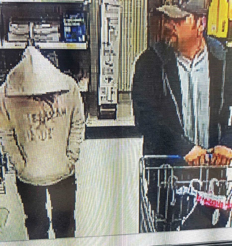 PHOTO: A girl believed to be 15-year-old Amelia Hill was spotted with an unknown man at a Walmart in Randleman, North Carolina, April 9, 2018.
