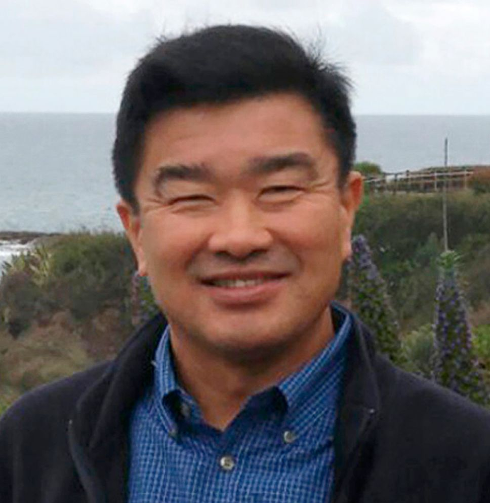PHOTO: Tony Kim (also known as Kim Sang-duk), in a 2016 photo provided by his family taken in California. Kim was detained at the Pyongyang airport. He taught accounting at the Pyongyang University of Science and Technology.
