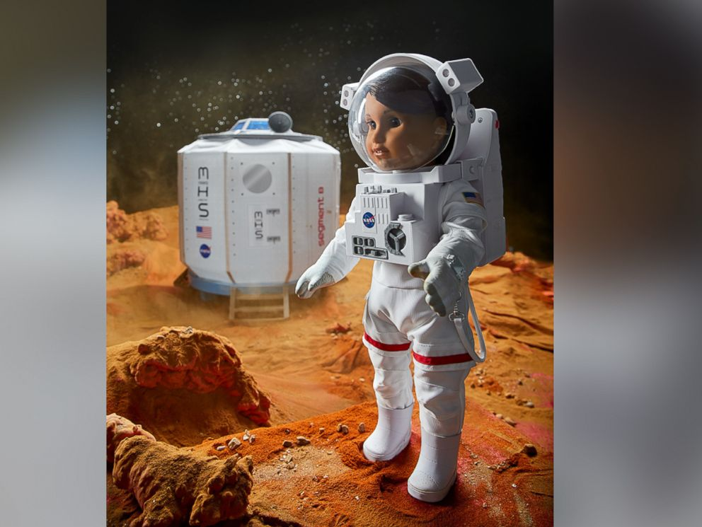 PHOTO:American Girls 2018 girl of the year doll, who was revealed on GMA today, is Luciana Vega, an aspiring astronaut who hopes to be the first person to go to mars.