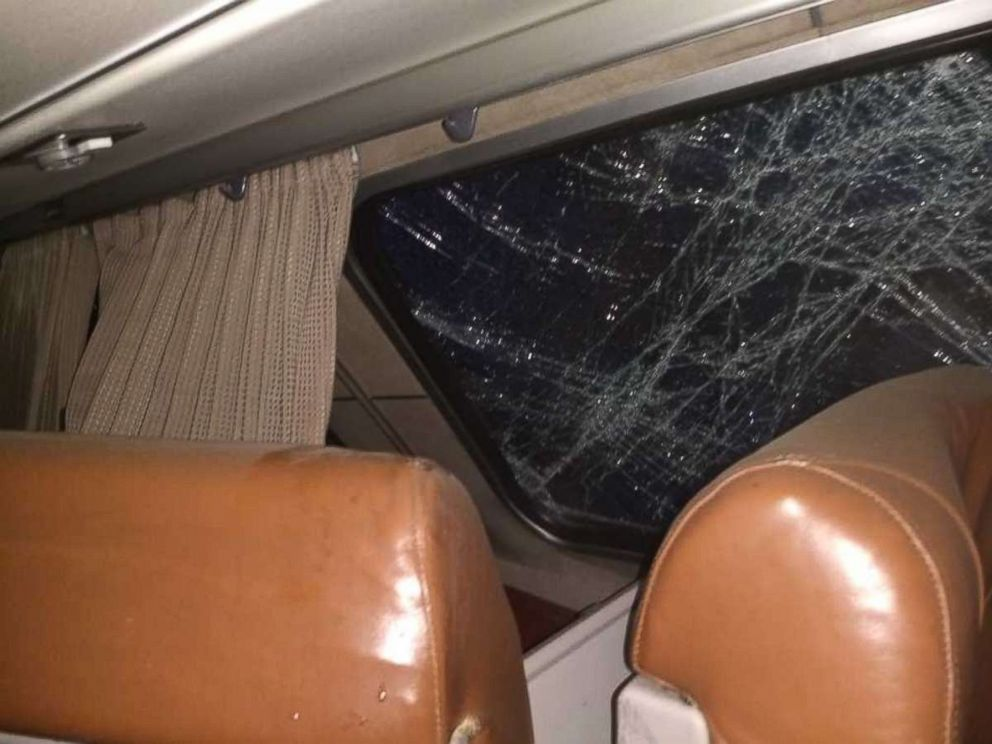 PHOTO: This image shows the interior of the Amtrak train after it derailed going over a bridge near Dupont, Washington, Dec. 18, 2017.