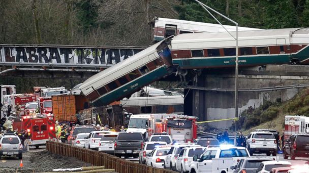 County transit employee among 3 killed in Amtrak train derailment in Washington state