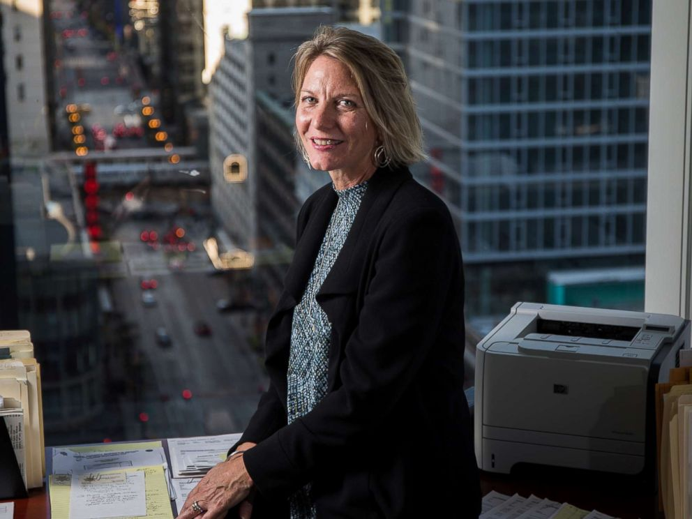 PHOTO: Cook County Public Defender Amy Campanelli poses for a portrait on Oct. 14, 2015 at her office in Chicago.