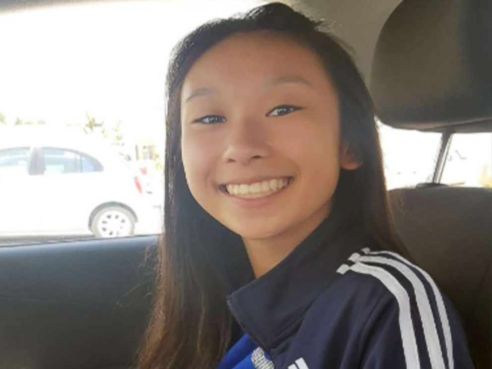 PHOTO: Amy Yu, 16, after she was located in Playa del Carmen, Quintana Roo, Mexico, on March 17, 2018.