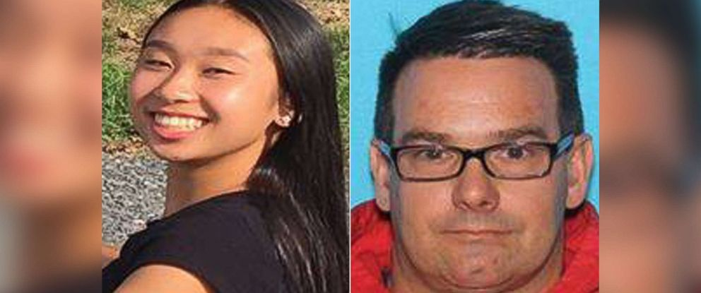 PHOTO: Amy Yu age 16 and Kevin Esterly age 45, have been reported missing and could possibly be traveling together in a 1999 Red Honda Accord, 2 door bearing PA vehicle registration of KLT 0529.
