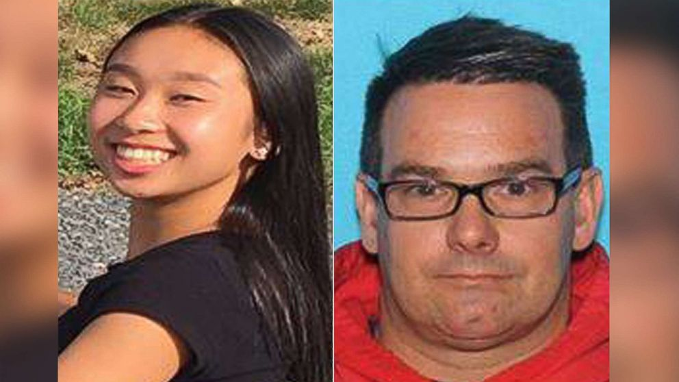Amy Yu age 16 and Kevin Esterly age 45, have been reported missing and could possibly be traveling together in a 1999 Red Honda Accord, 2 door bearing PA vehicle registration of KLT 0529.