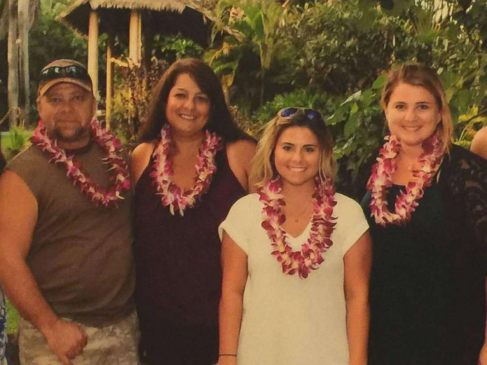 PHOTO: Dorene Anderson, second from left, is pictured with her husband and two daughters. Anderson was one of the people killed in Las Vegas after a gunman opened fire, Oct. 1, 2017, at a country music festival.