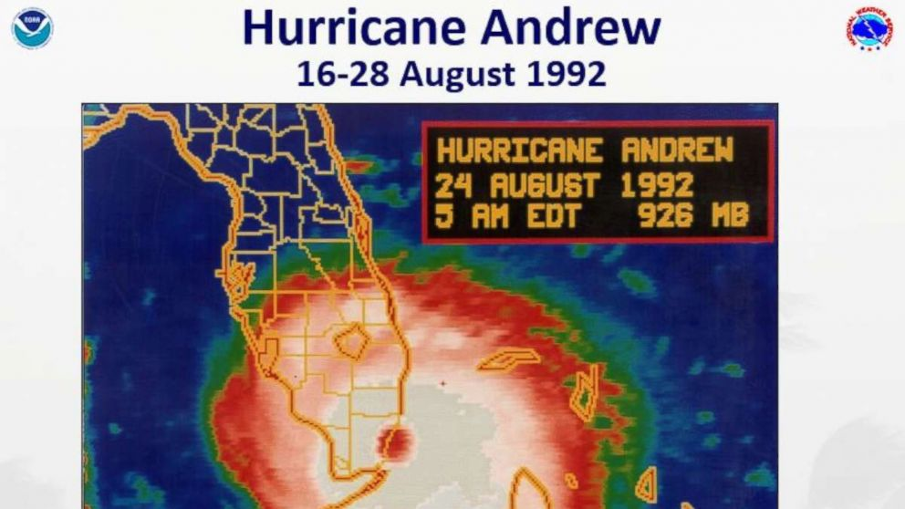 Hurricane Andrew 25 Years Later The Monster Storm That Devastated