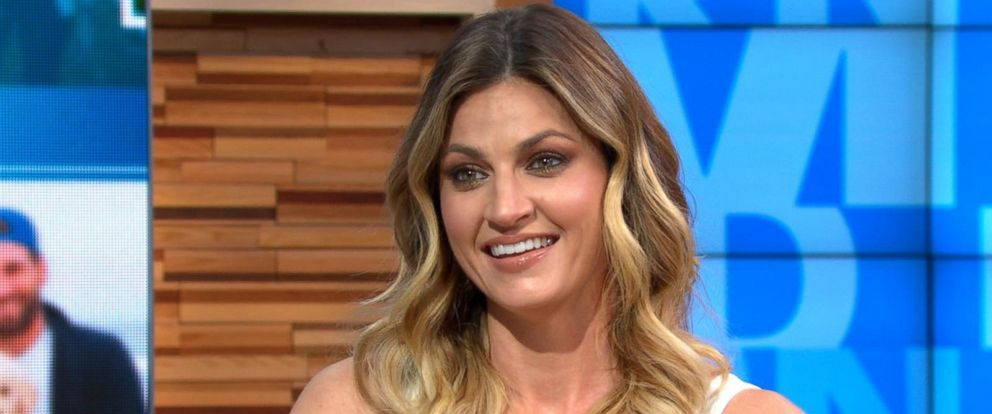 "PHOTO: ""Dancing With the Stars"" host Erin Andrews speaks out on ""Good Morning America,"" March 13, 2018, about her battle with cervical cancer."