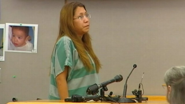 VIDEO: Texas mother, 23, will likely spend the rest of her life behind bars for abusing her 2-year-old daughter.
