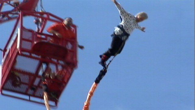 Bungee Jump Gift For 91 Year Old