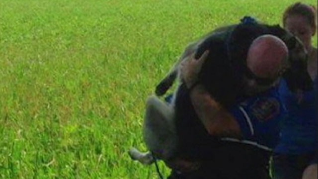 "VIDEO: A photo of the Pennsylvania rescue has thousands of ""likes"" on Facebook."