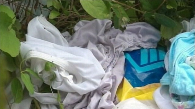 VIDEO: Officials are trying to figure out who left 3,000 pairs of panties along a road.