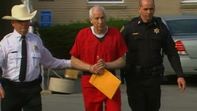 VIDEO: Former Penn State football coach will spend the rest of his life in prison for sexual abuse of children.