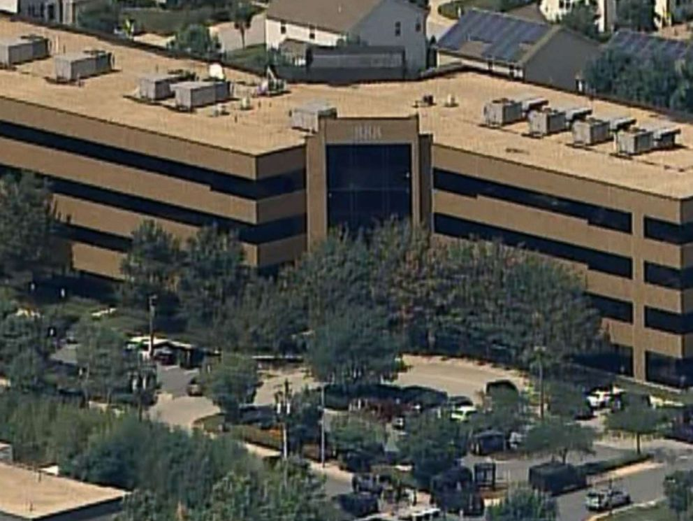 PHOTO: An office building at 888 Bestgate Road in Annapolis, Md., is pictured after reports of a shooting on June 28, 2018.