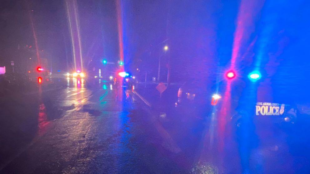 Polizei sucht verdächtigen erschossen 2 Beamten während der Verkehrskontrolle