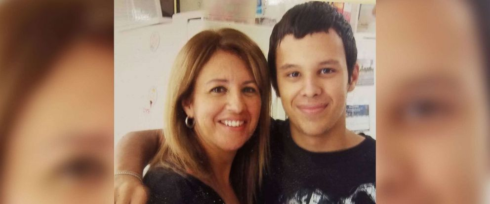 """PHOTO: Anthony """"DJ SonicC"""" Rodriguez, 22, and his mother Rita Marti."""