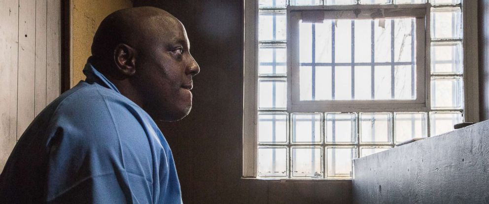 PHOTO: Antonio Porter is shown at the Stateville Correctional Center in Crest Hill on Feb. 27, 2018. Porter was convicted of a 2002 murder at a dice game.