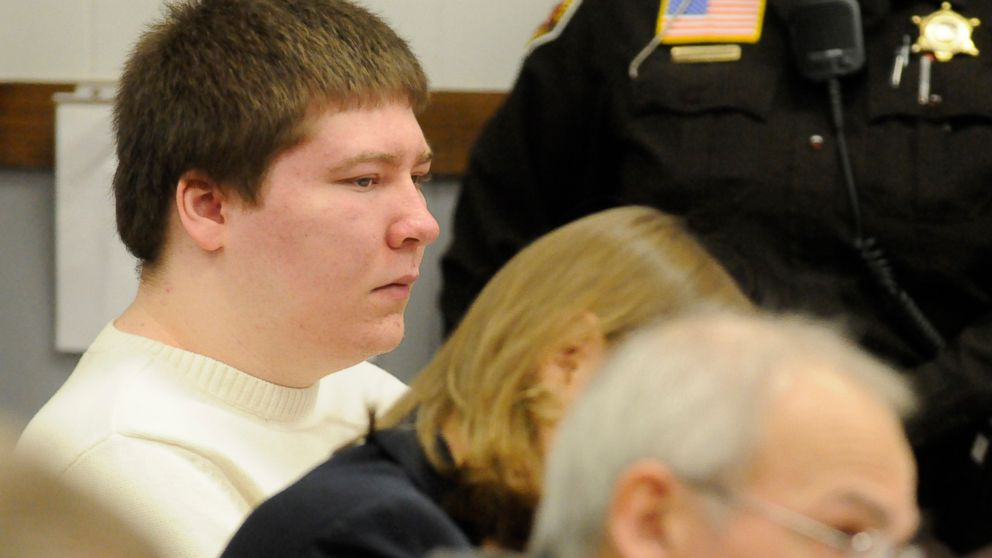 Brendan Dassey listens to testimony on Jan. 19, 2010 at the Manitowoc County Courthouse in Manitowoc, Wisconsin.