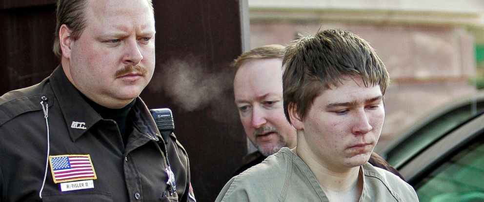 PHOTO: In this March 3, 2006 file photo, Brendan Dassey, is escorted out of a Manitowoc County Circuit courtroom in Manitowoc, Wis.