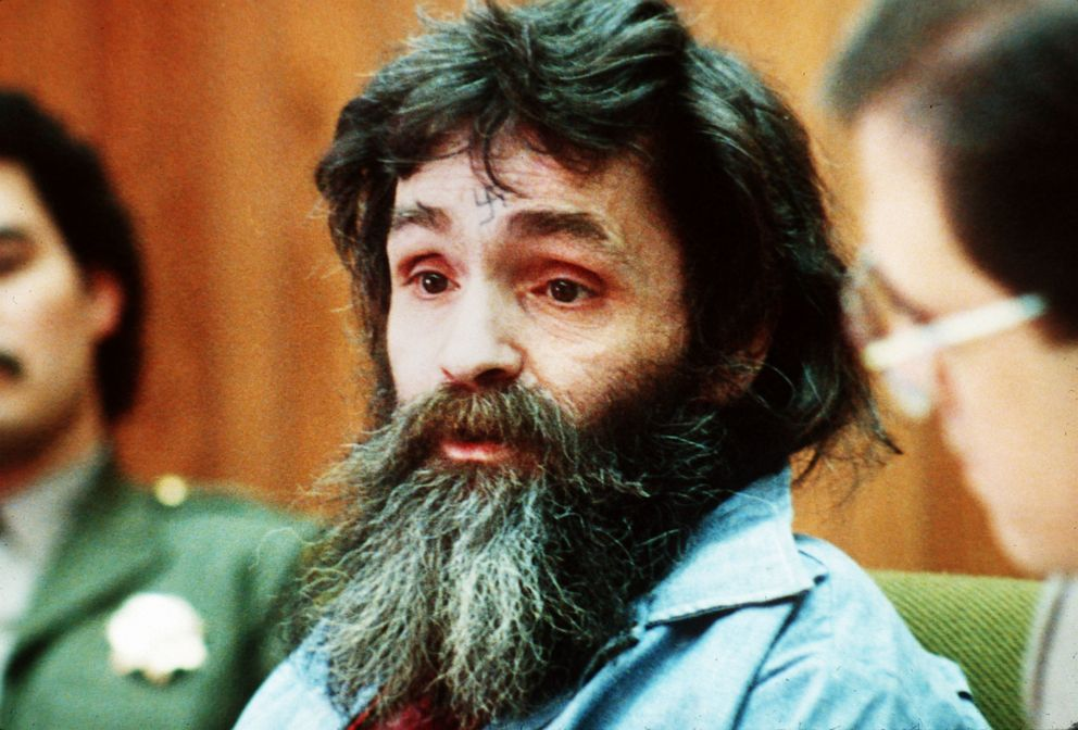 PHOTO: Charles Manson is seen in court, circa 1986.