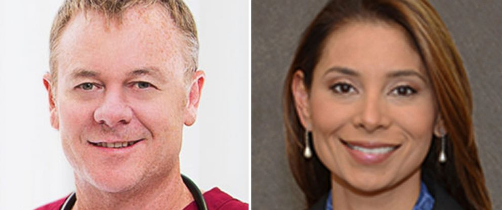 PHOTO: Two doctors were found dead at their penthouse apartment in Boston, May 5, 2017. They have been identified as engaged couple Richard Field, 49, and Lina Bolanos, 38.
