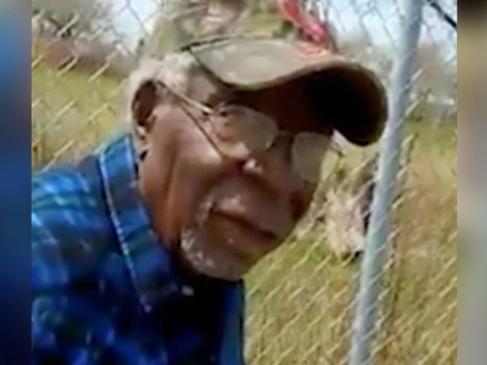 PHOTO: This Sunday, April 16, 2017 frame from a video posted on Facebook shows Robert Godwin Sr. in Cleveland moments before he was fatally shot.