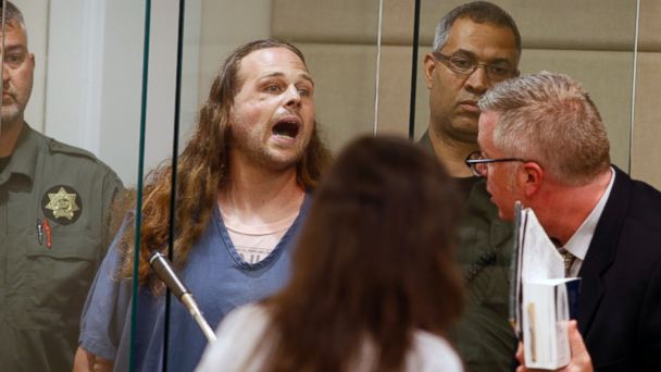 Portland stabbing suspect shouts in court: 'You call it terrorism, I call it patriotism'