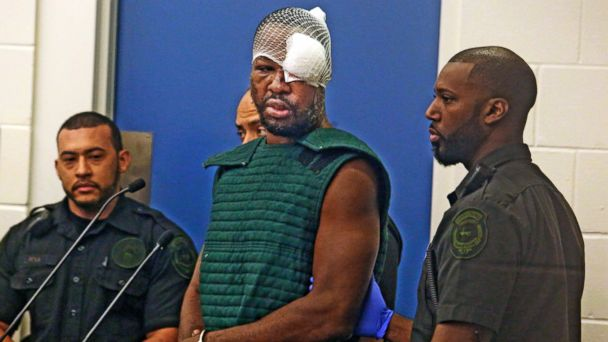 Suspected Orlando Cop Killer Goes on Profanity-Laced Rant in Court